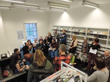 Workshop Rasende Schreibwerkstatt in der Kornhausbibliothek Bern