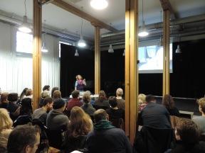 Projekt-Präsentationen mit Barbara Balba Weber an der Hochschule der Künste Bern